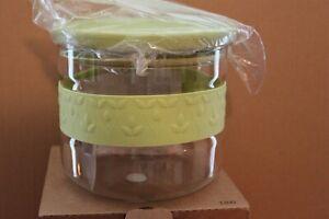 L 3300 Princess House Fantasia Green Dry Food Storage Container 2 Qt NIB RET