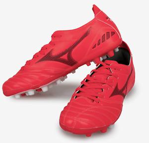 Mizuno Men Morelia Neo 3 Pro AG Cleats Soccer Red Football Boot Spike P1GA208460