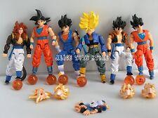 Set of 6pc Dragonball Z Dragon Ball DBZ Action Figures Toy #A RARE GoKu Trunks