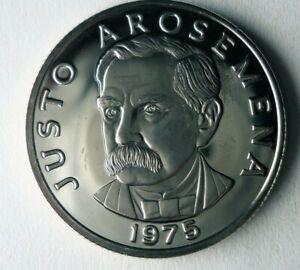 1975 PANAMA 25 CENTESIMOS - PROOF - Key Type - Low Mintage Coin - Lot #J20