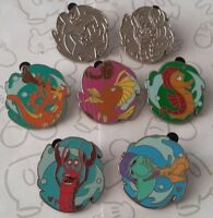 Undersea Band Collection 2012 Hidden Mickey Series Set DLR Choose a Disney Pin