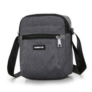 Men's Messenger Bag Waterproof Cross Body Shoulder Utility Travel Sports Bag