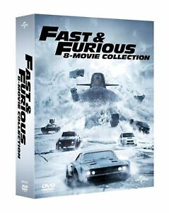 FAST & FURIOUS - 8 MOVIE COLLECTION - ITA - ENG - 8 DVD