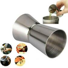 25/50ml Metal Measure Cup Drink Tool Single Double Shot Mixed Cocktail Beaker