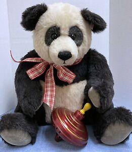 "STEIFF/ Toy Shoppe Exclusive 20"" Chub-ling Ltd. Ed 365/1500 Seated Panda"