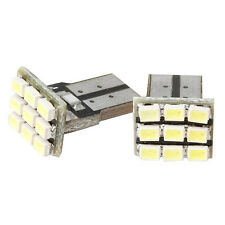 2x White T10 9 SMD 194 168 501 W5W Bright LED Wedge New Hot