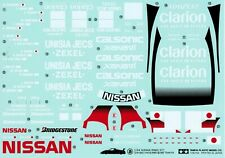 1:24 Decal Set Tamiya R390 Le Mans Clarion
