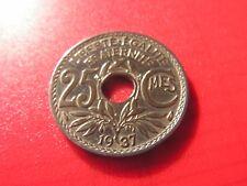 25 CENTIMES - LINDAUER - 1937- etat  SUP !