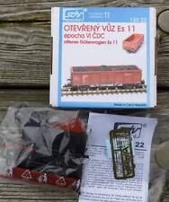 offener Güterwagen Es 11   Epoche VI  mit Kohleladung -    1:120 TT