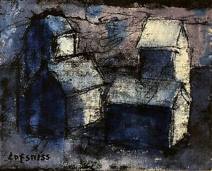 """Al Lofsness Oil  - Canvas  - Landscape  - 11 x 14      -     """"Blue Sunrise"""""""