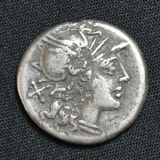 Roman Republic, AR Denarius, Junia, 145-138 BC, RCV 87, Crawford 210/1