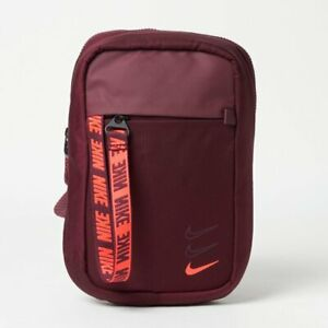 Nike Sportswear Essentials Hip Pack Crossbody Bag Night Maroon BA6144-681