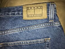 "Men's Tommy Hifiger blue jeans^^34"" x 34""(verified)<>classic straight, zip fly"