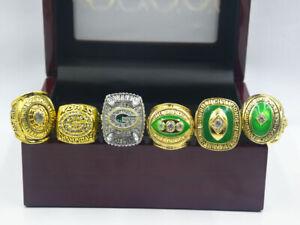 6PCS Green Bay Packers Championship Ring ---