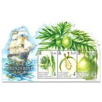 Pitcairn Islands 2015 The Breadfruit Saga Stamp Miniature Sheet Mint Unhinged