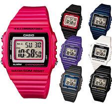 Casio Digital estándar w215h-1a / 1a2/2a/4a / 6a/7a/8a Serie