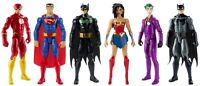 "Justice League Action 12"" Assorted Character Figure & Batmobile"