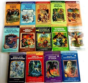 Lot 1-14 Endless Quest CYOA D&D RPG Adventure Gamebooks TSR Rose Estes
