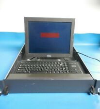 Dell 2U Server Rack Console with 0636U Monitor, ML4400 PS2 Keyboard & Cables