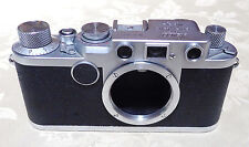 Leica Leitz 2F IIF camera # 650244 CLA'd 3 Month warranty Red sync # Wetzlar