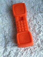 Fisher Price Fun with Food Kitchen Replacement Orange Phone Telephone Vtg 1987