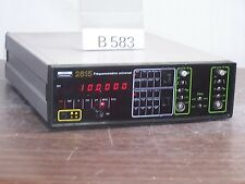 ENERTEC 2615 FREQUENCEMETRE UNIVERSAL COUNTER 120MHz *B583