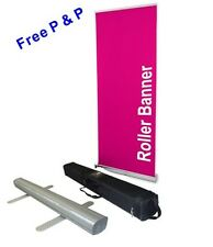 Cheapest x2 800x2000mm Roller Banner Pull/Roll/Pop-up Exhibition/Display Stand