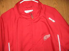 Reebox Detroit Red Wings Jacket Color Red Hockey NHL Size Adult XL FREE SHIP
