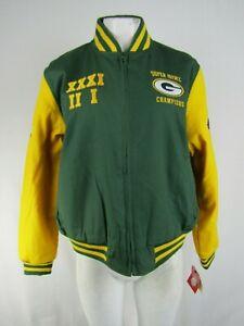 Green Bay Packers NFL G-III Women's Full-Zip Reversible Jacket