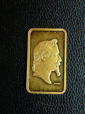 LINGOT 5 Grs OR FIN 999,9 K SUISSE NAPOLEON III GOLD BAR LINGOTIN GOLDBARREN