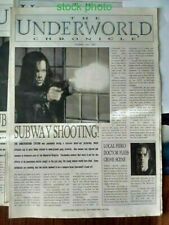 The Underworld Chronicle Original 2003 Pre-Release 4-Pg Promo Newspaper 15x11 VF