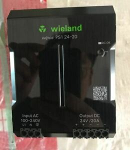 NEW WIPOS SLIM POWER SUPPLY 24VDC 20A