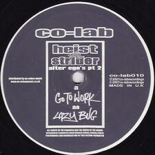 """Heist / Strider – Go To Work / Lazy Bug NEW Co-Lab VINYL 12"""" DRUM & BASS"""