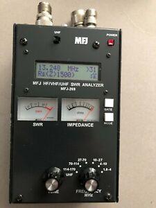 MFJ-269 HF/UHF/VHF SWR ANALIZER