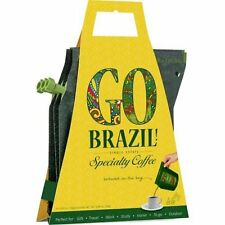 Growers Cup Go Brazil 3 Pack Speciality Coffee - Easy Brew in Sachet for Hiking