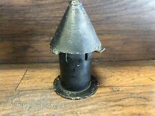 Antique Arts & Craft Cast Iron Roof  VENT PIPE COVER Tudor Architectural Salvage