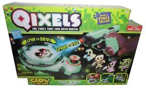 QIXELS GLOW IN THE DARK FUSE N DRY COMBO PACK *BNIB - SCUFFED BOX* 1000 CUBES
