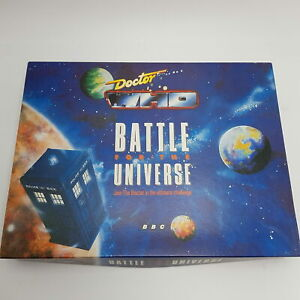 Vintage Doctor Who BATTLE FOR THE UNIVERSE Board Game (1989) BBC TV VGC+