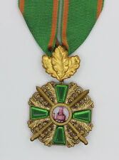 Order of the Zähringer Lion with Oak Leaf with ribbon