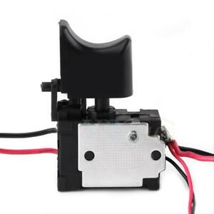 Replacement Drill Trigger Switch Speed Control/Current Limiter DC 7.2V-24V 16A