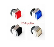 1 Push Button for Printing Presses - Heidelberg - Red, Blue, Black or Clear