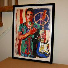 John Mayer Slow Dancing in a Burning Room Guitar Rock Poster Print  Art 18x24