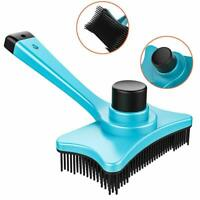 Pets Grooming Brush DeShedding Tool Comb Edge Trimming Cat Dog Fur Removal P6Y3