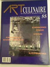 Art Culinaire Professional Chef Hardcover Magazine Issue 55 winter 1999/2000