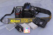 Excellent Nikon D700 FX 12.1MP Professional DSLR Camera, Low Shutter count 39358