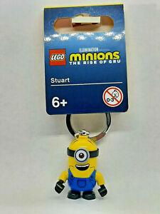 Brand New Lego - Stuart Keyring (2021) - Minions the Rise of Gru - 854071