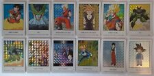 DragonBall DBZ Card carte - hero collection part 1 prisme set 12/12 artbox
