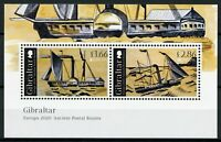 Gibraltar Ships Stamps 2020 MNH Ancient Postal Routes Services Europa 2v M/S