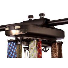 Totes (73330-010) Revolving Tie & Belt Rack w/ 64 Individual Tie Hangers **NEW**