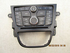 13 - 15 BUICK ENCORE BASE CX CXL DASH AUDIO CD PLAYER RADIO CONTROL FACE PLATE